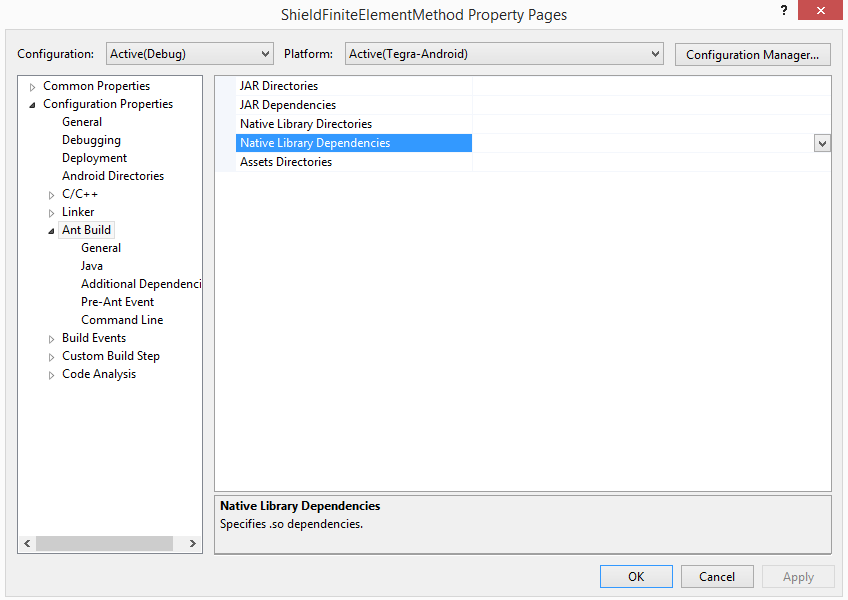 Deploying Assimp Using Visual Studio and Android NDK for